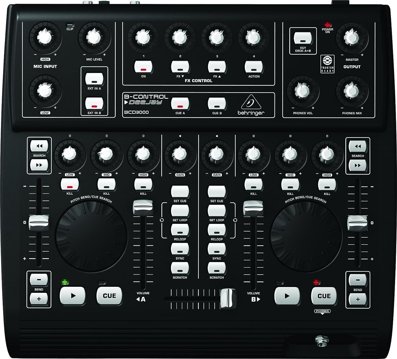 Behringer BCD3000 - Controladora de DJ USB de 4 canales: Amazon.es: Instrumentos musicales