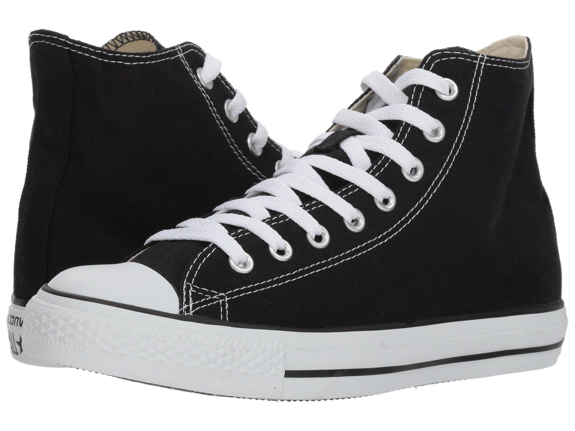 converse high tops black amazon