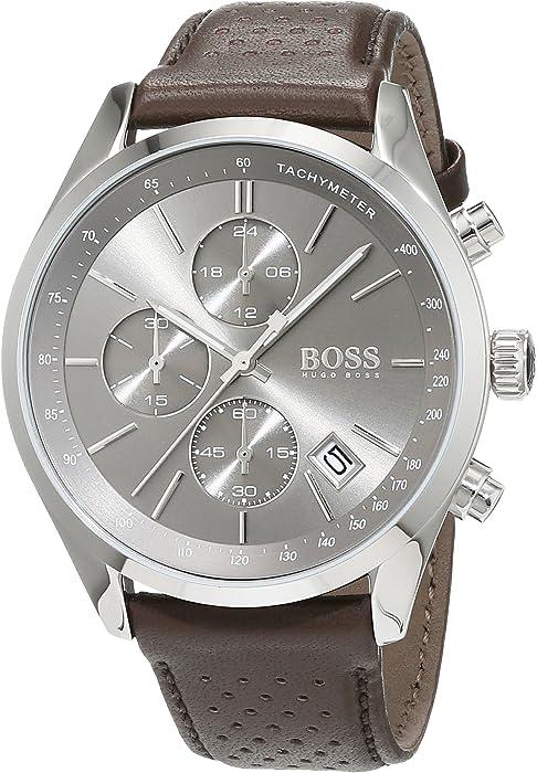 Hugo Boss Grand Prix – Reloj de Cuarzo para Hombre