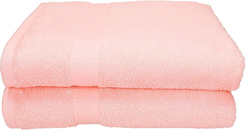 Betz Paquete de 2 Toallas de Sauna Palermo 100/% algod/ón tama/ño 80x200 cm Color Albaricoque