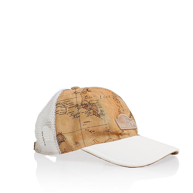CAPPELLO ALVIERO MARTINI DONNAVVENTURA BASEBALL HAT DFH2059392 WHITE   Amazon.it  Abbigliamento 3edecc46291a