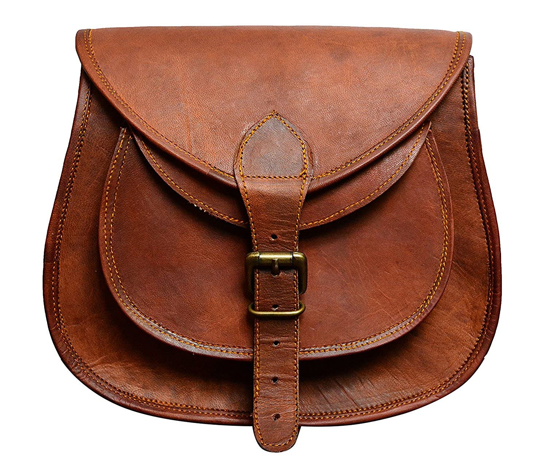 333c69372b4d Indi (Avail In Size 9, 11, 13 Inch) Full Grain Veg Tan Leather Handmade  Satchel Cross Body Shoulder Bag, Everyday Satchel, Weekend Festival  Crossbody ...