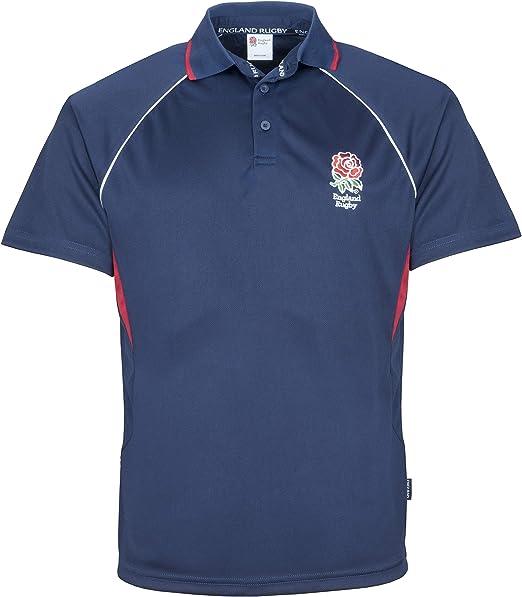 England Rugby - Polo de Rugby, Azul, XXX-Large: Amazon.es ...