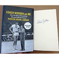 $69 » Kareem Abdul Jabbar signed book Coach Wooden and Me 1st Printing