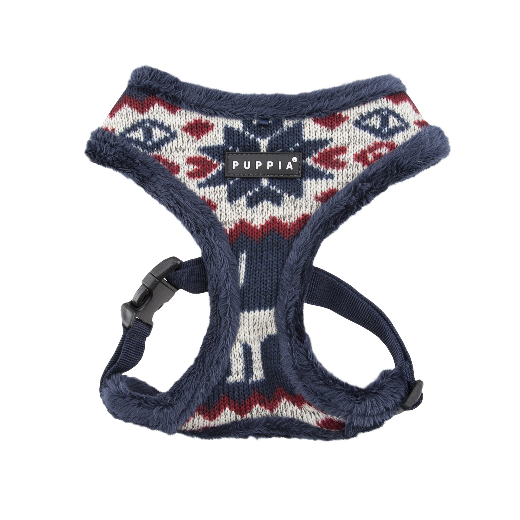 Puppia Cupid Harness-A for Pets, Navy, Small by Puppia