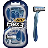 BIC Flex 3 Men's Disposable Razor, 8-Count
