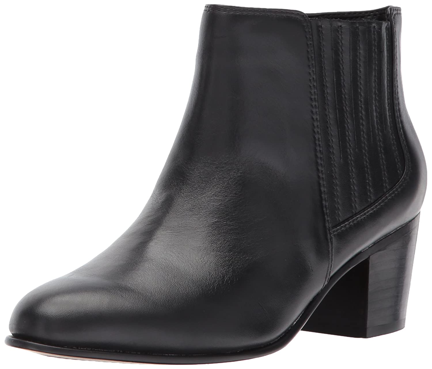 CLARKS Women's Maypearl Tulsa Ankle Bootie B01MRZPVIC 5.5 B(M) US|Black Leather