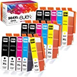 ejet 564XL Ink Cartridge Compatible Ink Cartridge Replacement for HP 564XL 564 XL to use with Photosmart 7520 6520 5520 5510