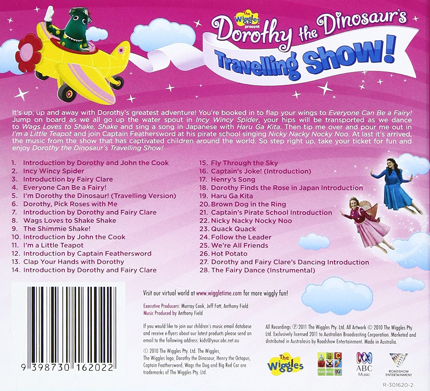 The Wiggles Dorothy Dinosaur Traveling Show