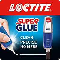 Loctite Super Glue Perfect Pen, Glue Pen for Precise Application, Superglue Gel Dries Clear for Invisible Repairs, Clear…
