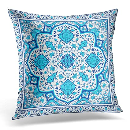Amazon Emvency Throw Pillow Covers Indian Floral In Victorian Interesting Victorian Pillows Decorative