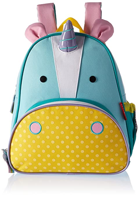 Skip Hop Zoo Toddler Kids Insulated Backpack Eureka Unicorn Girl, 12 inches, Multi