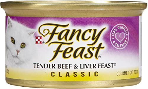 Fancy Feast Classic Beef Liver Feast – 24 X 3 Oz