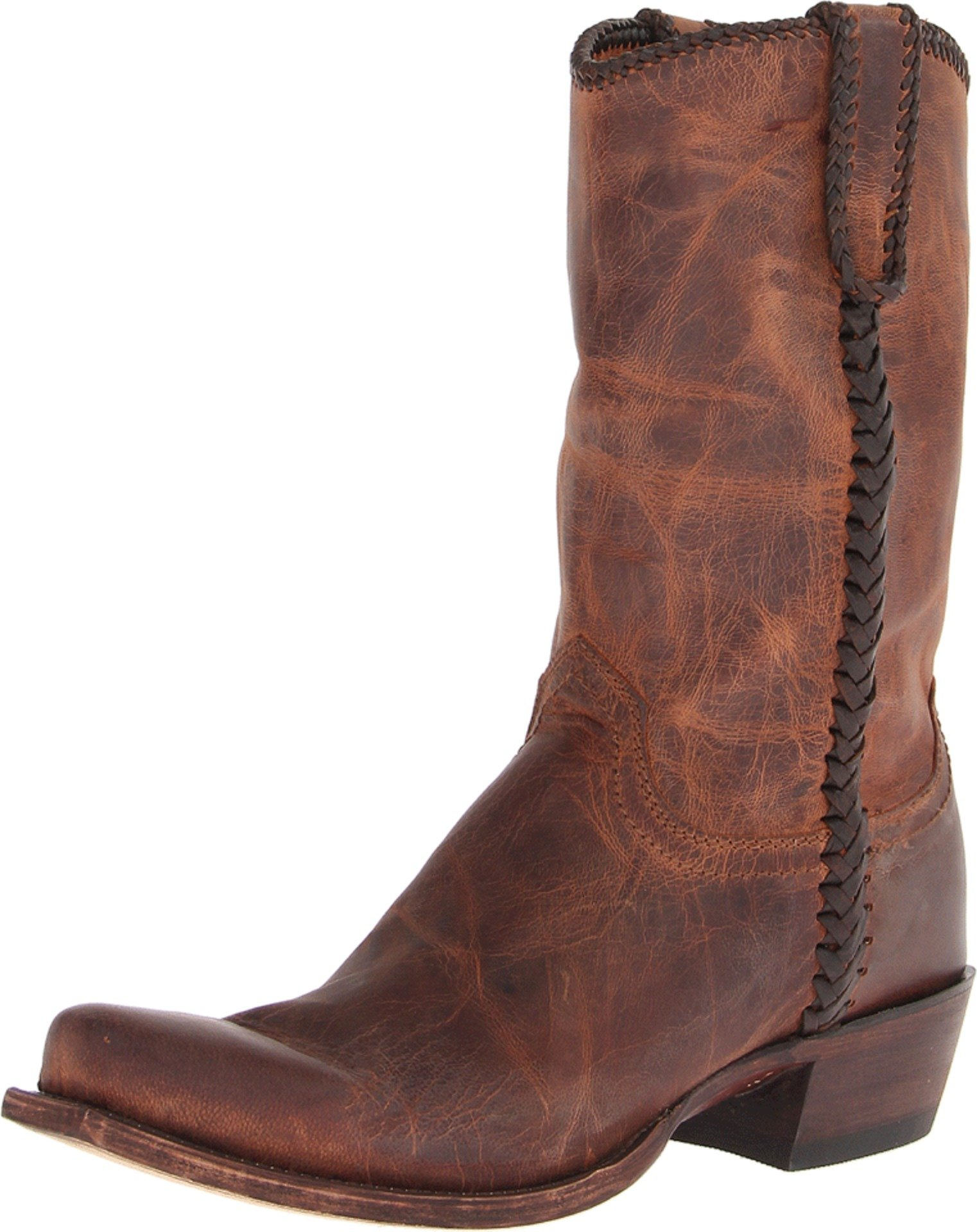 Lucchese Classics Men's Clayton Western Boot, Peanut Brittle, 8 D US
