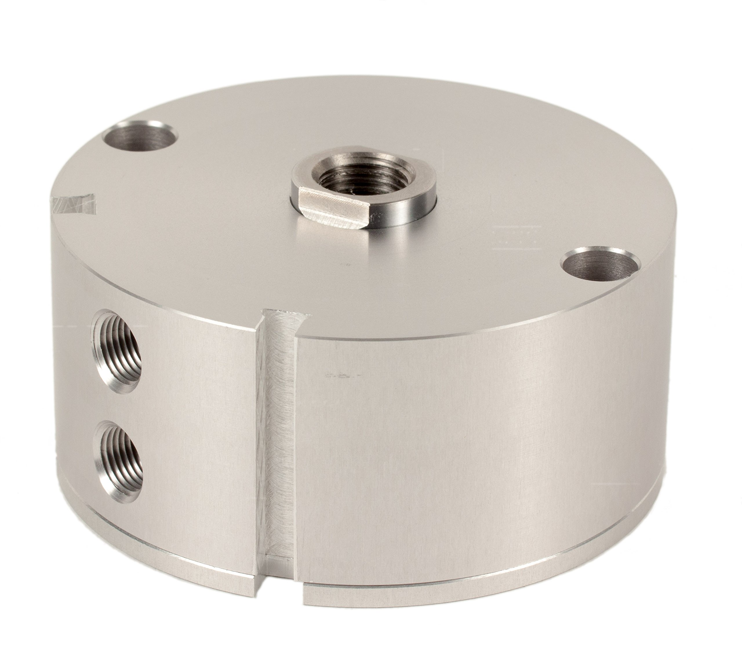 Fabco-Air A-321-X-E Original Pancake Cylinder, Double Acting, Maximum Pressure of 250 PSI, Switch Ready with Magnet, 2'' Bore Diameter x 3/8'' Stroke