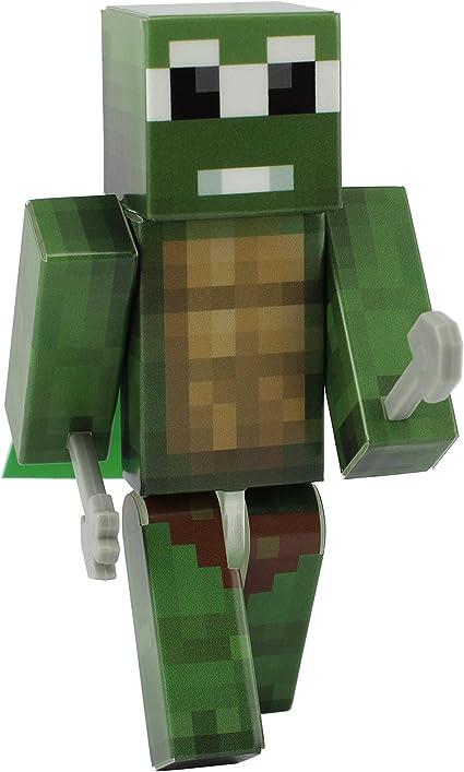 4 Inch Custom Series Figurines EnderToys Derpy Turtle Action Figure Toy