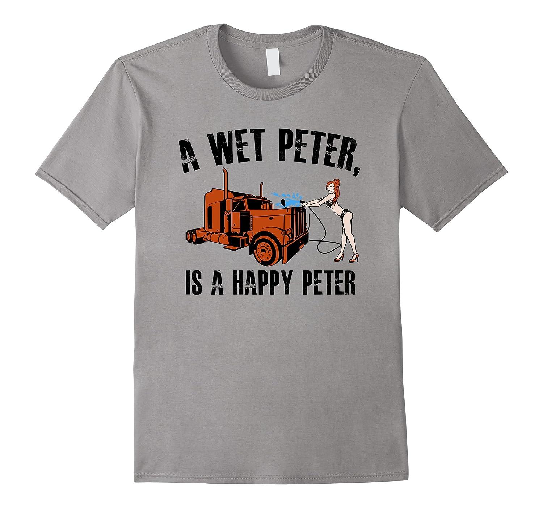 A Wet Peter Is A Happy Peter T Shirt-FL