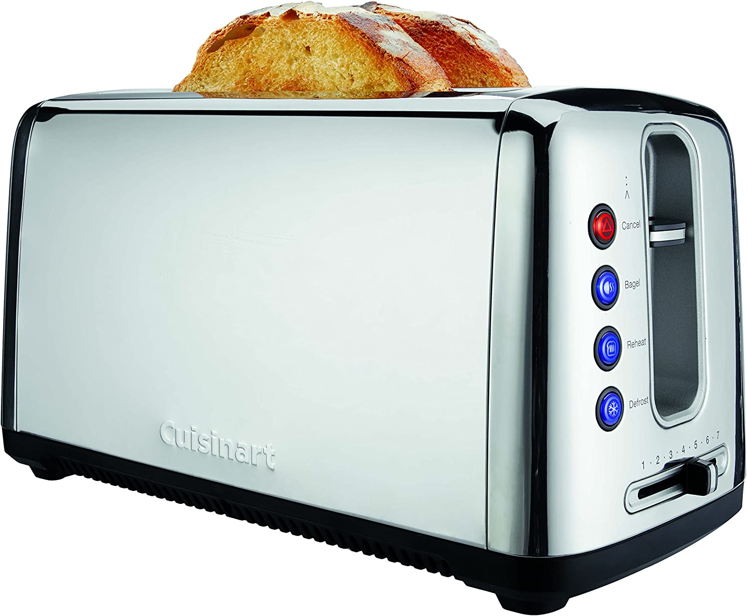 Cuisinart CPT-2400P1 Bakery Artisan Bread Toaster, 2 Slice, Silver