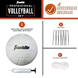 Franklin Sports Volleyball Net Professional Set