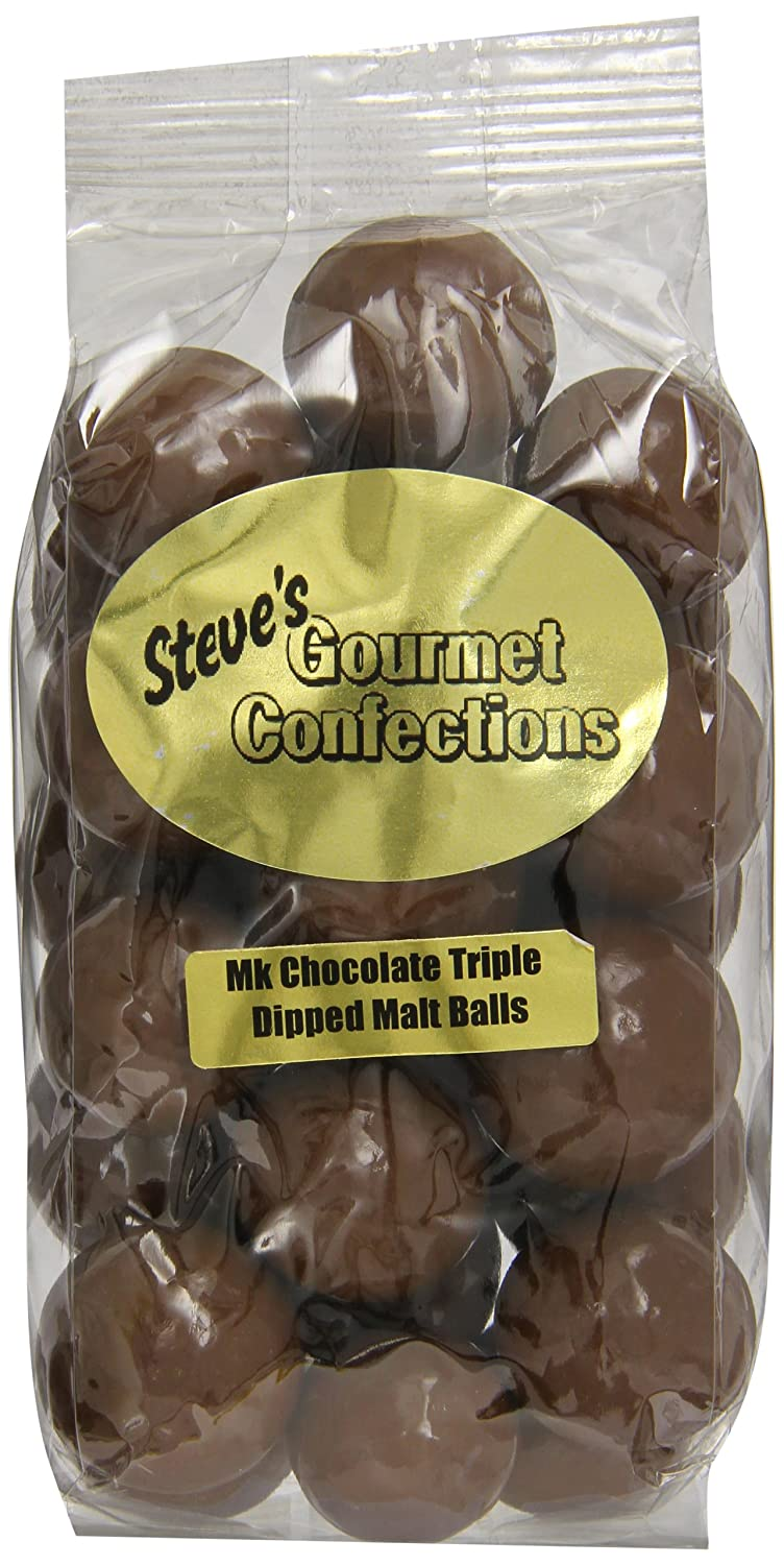 Amazon.com : Steve's Gourmet Confections Triple Dipped Malt Balls ...