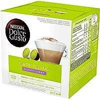 Nescafé DOLCE GUSTO Café CAPPUCCINO LIGHT - Pack de 3 x 16 cápsulas - Total: 48 Cápsulas