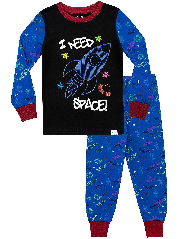 Ping Pop Pijamas para ni/ños Necesito Espacio Ajuste Ce/ñido