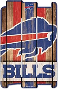 WinCraft NFL Wood Fence Sign