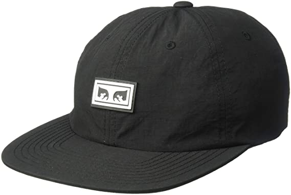 ce91cec77 Amazon.com: Obey Men's Alchemy 6 Panel Strapback HAT, Black ONE Size ...