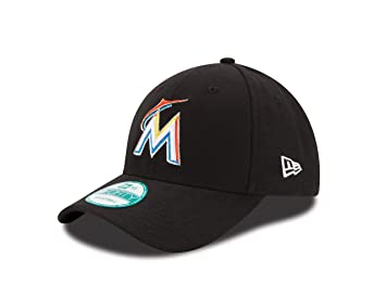 in stock c630e d70c7 New Era MLB The League Miami Marlins Home 9Forty Adjustable Cap, Black,  Baseball Caps - Amazon Canada