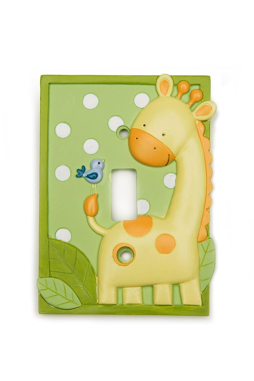 Amazon.com : Kids Line Decor Shoppe Switchplate Cover, Giraffe ...
