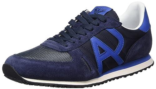 Armani 9350277p420, Zapatillas para Hombre: Amazon.es: Zapatos y complementos