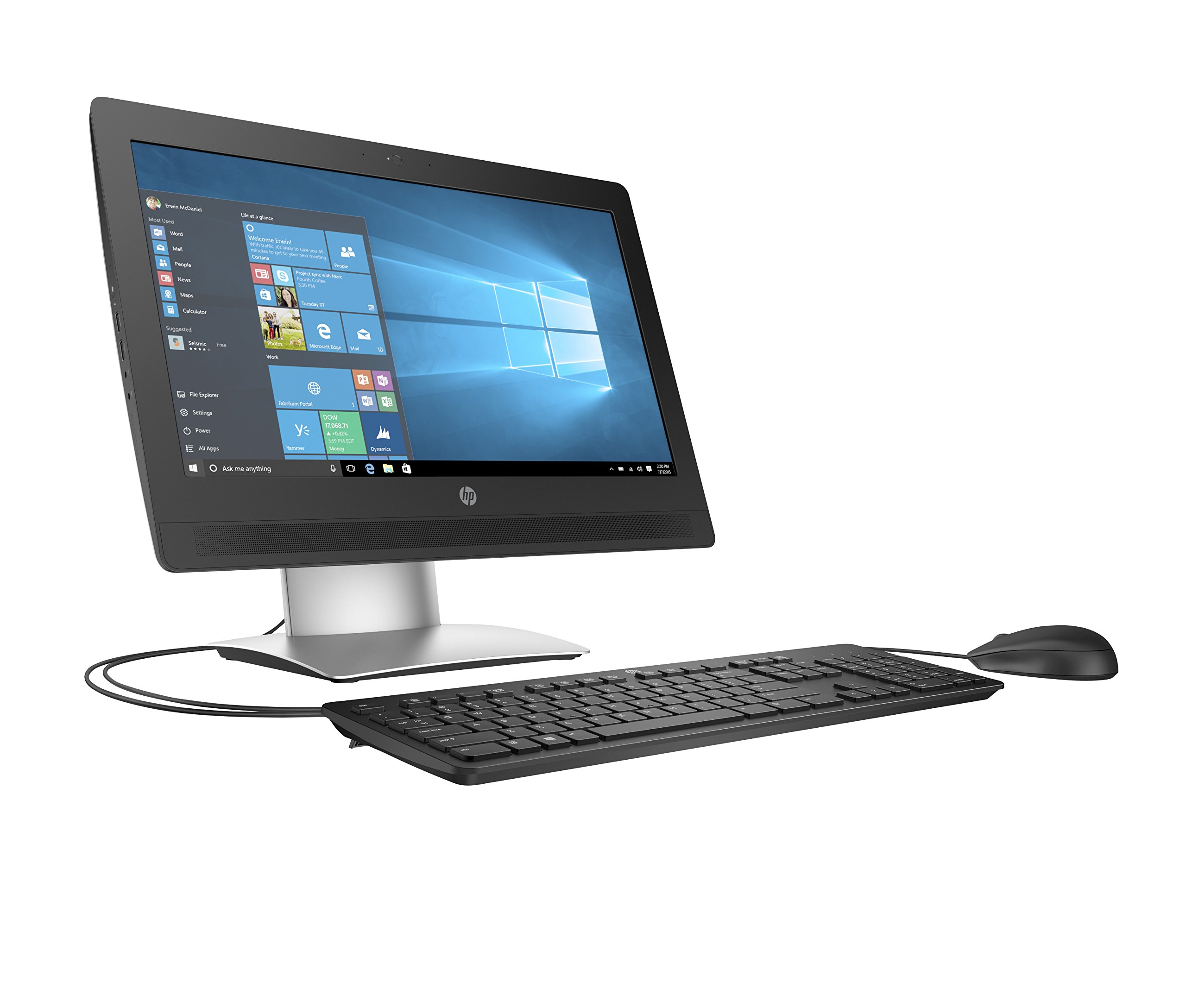 HP Business Desktop ProOne 400 G2 All-in-One Computer - Intel Pentium G4400 3.30 GHz - Desktop by HP