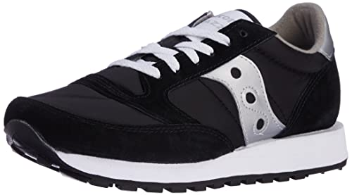 Saucony Originals Men's Jazz Sneaker,Black/Silver ...
