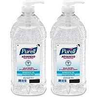 2-Pack Purell Advanced Hand Sanitizer Bottle Hand Sanitizer Gel