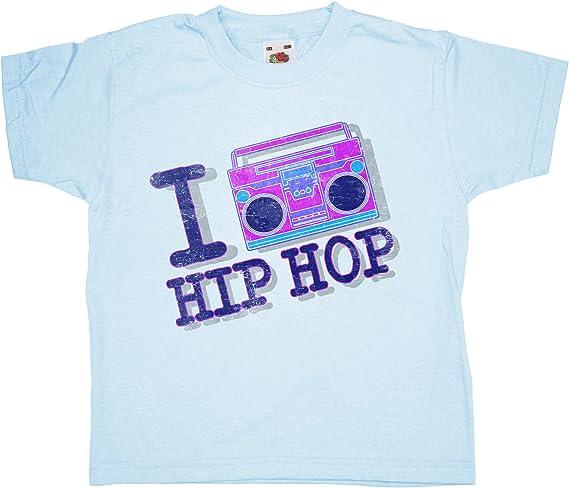 Refugeek Tees - Enfants I Heart Hip Hop T