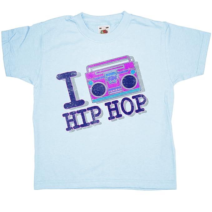 26aba38e Amazon.com: Kids I Heart Hip Hop T Shirt - 8Ball Originals Tees: Clothing