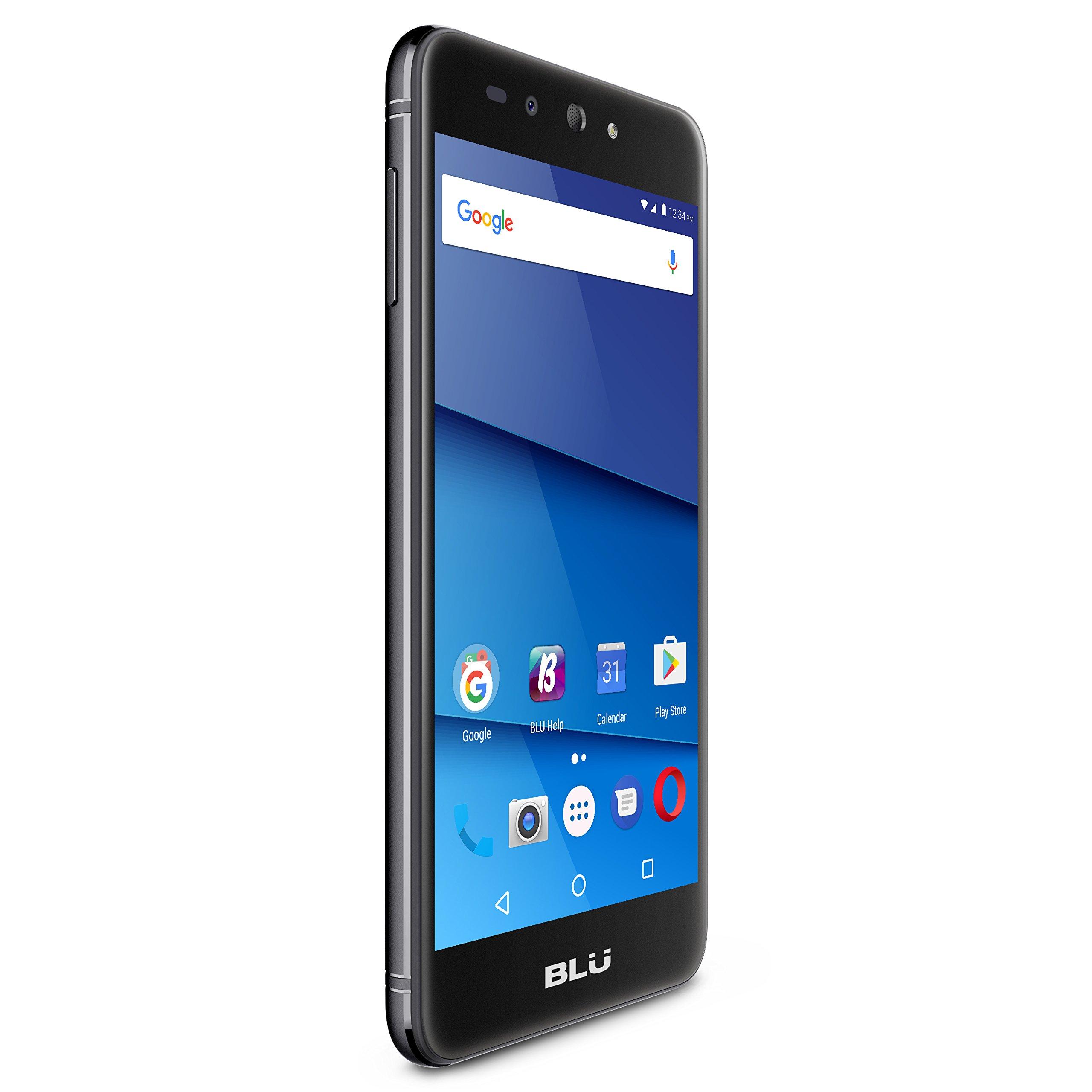 BLU Advance A5 Plus LTE - 5.5'' 4G LTE -GSM Unlocked Smartphone -Black