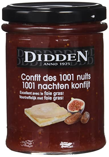Didden Chutney 1001 Noches - Paquete de 6 x 220 gr - Total: 1320 gr