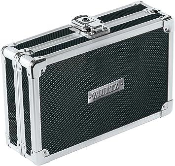 Vaultz Locking Mini Utility Box 1.75 x 4.5 x 5.75 Inches Tactical Black...