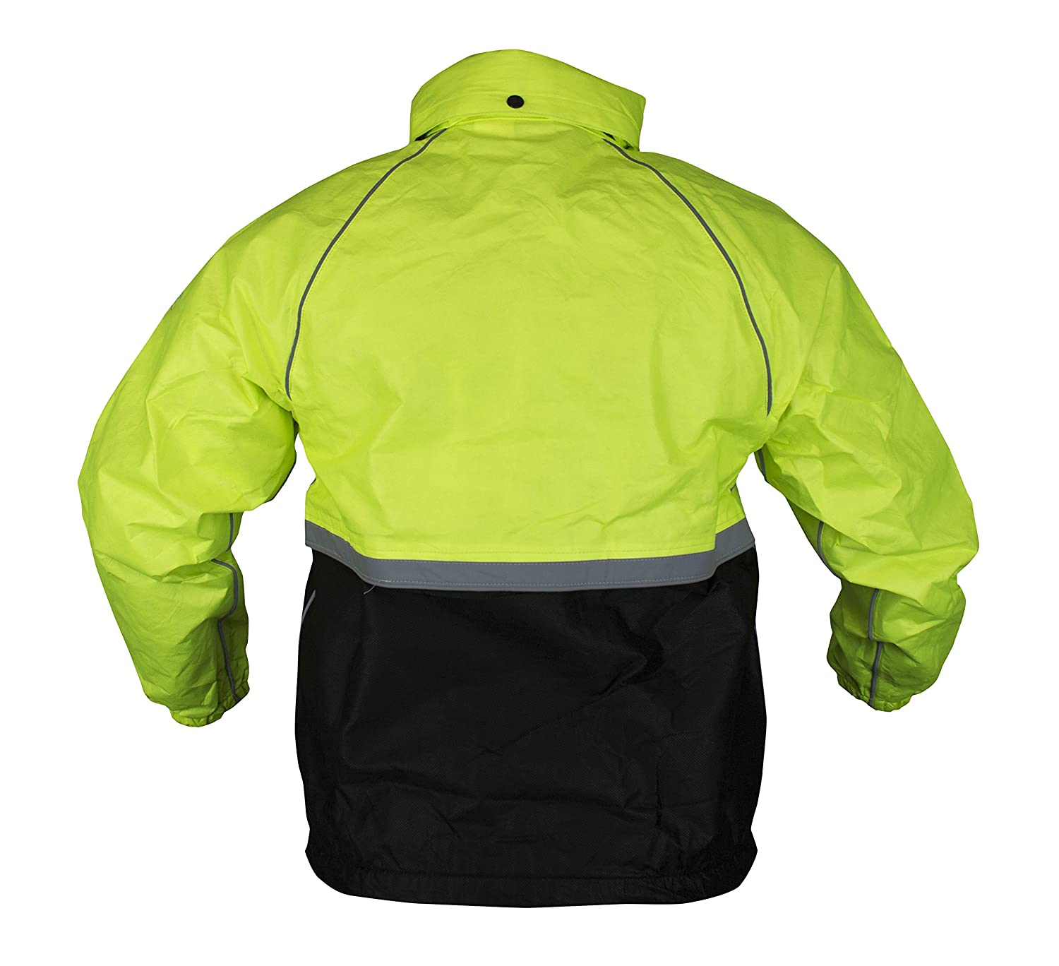 Medium Black//HV Lime Green Compass 360 Roadtek Reflective Riding Jacket