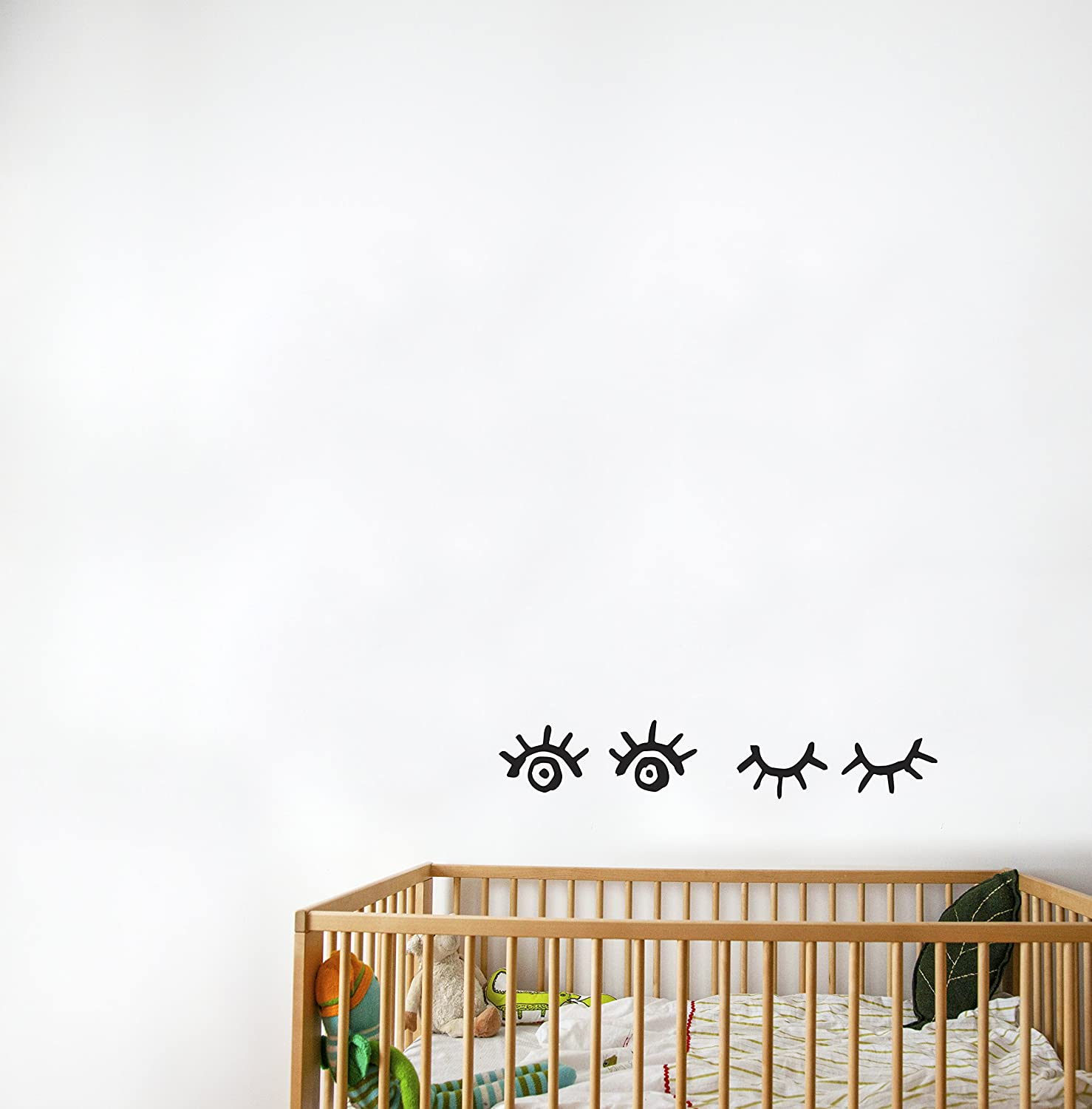 AdzifKeeping an Eye on You Wall Decals Multicolored