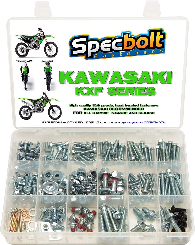 SPECBOLT Kawasaki Bolt Kit KX 60 65 85 100 125 250 500 KX500 KX250 KX125 L
