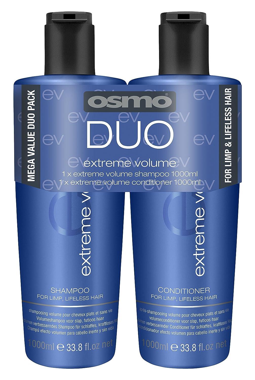 OSMO Extreme Volume Shampoo 1 Litre/Conditioner 1 Litre 064172