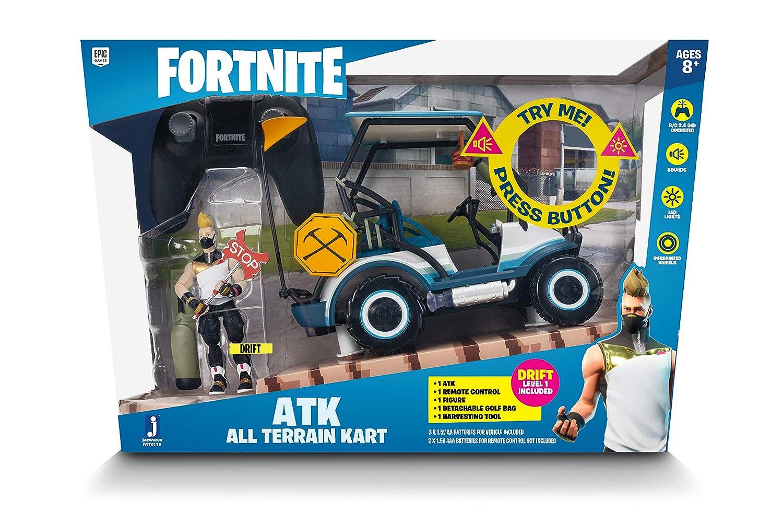 Amazon.com: Fortnite ATK Vehículo con figura (Rc): Toys & Games