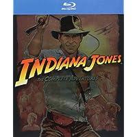 Indiana Jones la Cuadrilogía (Indiana Jones Quadrilogy BD) [Blu-ray]