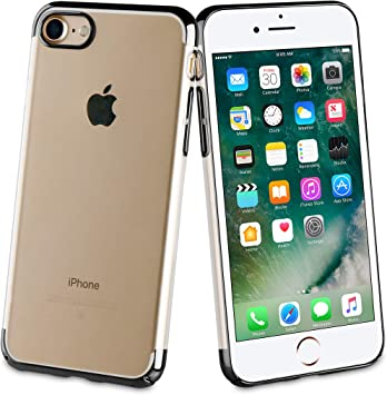 muvit Coque Edition Crystal Noir: Apple Iphone 6/6S/7/8