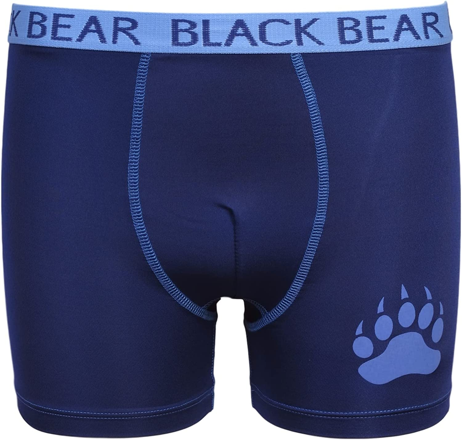 Black Bear Boys/' Performance Dry-Fit Compression Boxer Brief 4 Pack
