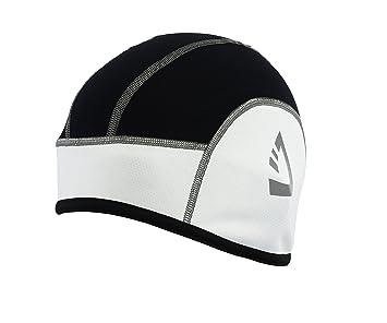 48e8aafe7c7 Deckra Cycling Skull Caps Under Helmet Bike Thermal Cap Black Red  (Black White)