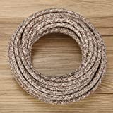 Electrical Wire, woopower 5 m Vintage Seil Draht Twisted Kabel ...