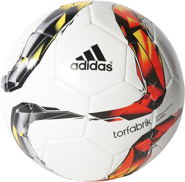 adidas Bekleidung DFL Glider Balón, Hombre, Blanco/Rojo/Negro ...
